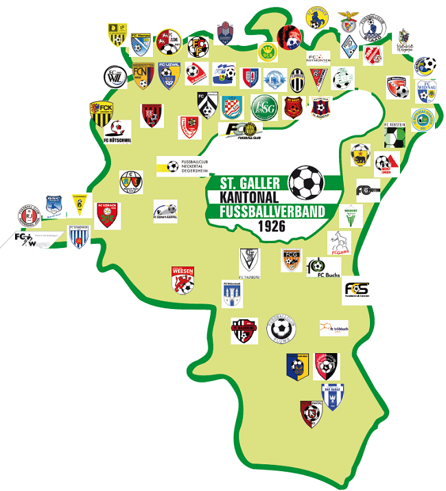 Karte SGKFV
